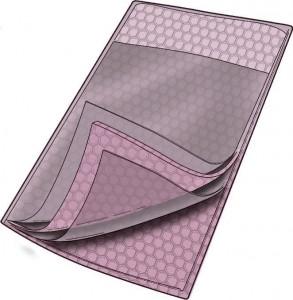 Series 9073SS Static Shield Cushion Pouch, Flap Closure
