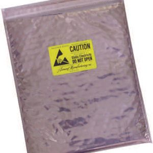 Series 9083SS Static Shield Zip Close Cushion Bag