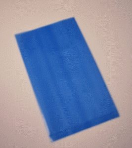 "Amine Free Static Dissipative (Blue) Poly Bag - 5""x8""x.006"