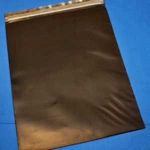 "Black Conductive Zip Close Poly Bag - 9""x12""x.006"