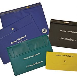 Vinyl Vehicle Document Holders