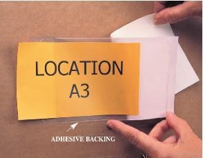 Static Safe Vinyl Envelopes with Adhesive Backing