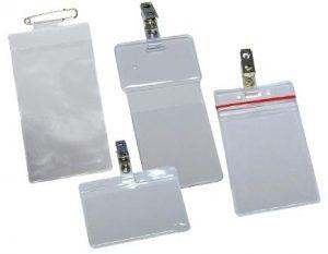 Custom Vinyl Badge Holders