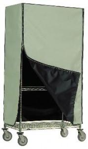 Green/Black Cart Cover
