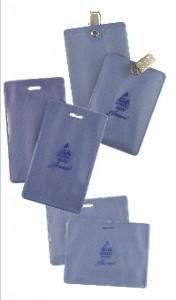 Static Safe Badge Holders