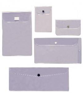 Custom Designed Vinyl Envelopes with Flaps