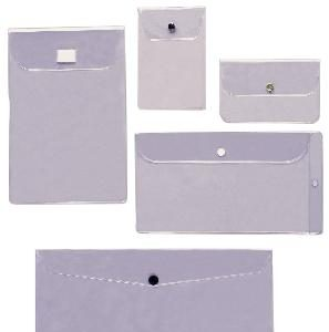 Custom Designed Vinyl Envelopes with Flaps