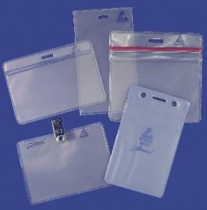 Custom Static Safe Badge Holders