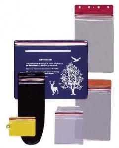 Custom Designed Reusable Zip-Close Vinyl Envelope