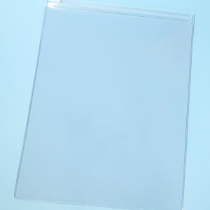 Zip Close Vinyl Envelope with Plastic Slider